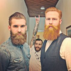 No beards for me. But you've really got to admire the hipster trend of these big-ass, old-school beards. Some guys rock 'em.