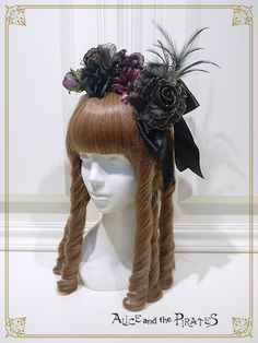 Alice and the Pirates Wicked bouquet head bow