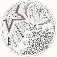 170 best hola 2014 images on pinterest doodles zen tangles and Gunne Sax Blouse mandala atelier zentangle zendala christmas drawing christmas art christmas colors christmas