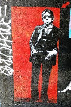 Paris 13 - rue de la poterne des peupliers - street art (for lezarts de la bièvre 2012) - jef aerosol
