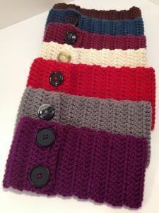 Crochet Headband Ear Warmers! $16