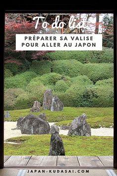 Quoi mettre dans sa valise pour un voyage au Japon (1) Garden Sculpture, Japan, How To Plan, Outdoor Decor, Packing, Sunrise, Rising Sun, Japan Trip, Japanese