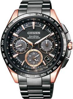 [シチズン]CITIZEN 腕時計 ATTESA アテッサ エコ・ドライブGPS衛星電波時計 F900 ダブルダイレクトフライト 針表示式 CC9016-51E メンズ
