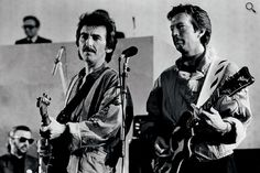 George Harrison and Eric Clapton :)