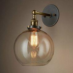 Jinyuze レトロ 幾何学ウォールランプ 6灯 幾何学的な回路壁の光工業的な暴露された電球 錆金属製壁ライト モダン インテリア おしゃれ かわいい アンティーク調 北欧 デザインいい ブラケットライト インダストリアル 屋外/屋内/玄関