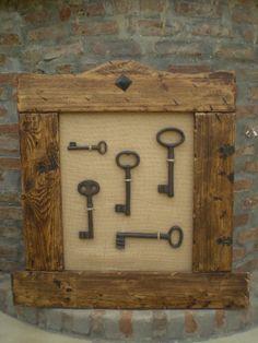 Decoracion con llaves antiguas