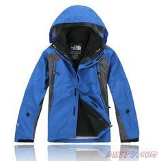 Hommes The North Face Gore Tex XCR Bleu Veste Sortie TNF6063