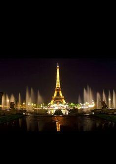 Ik ben dit weekend naar Parijs geweest en het is indrukwekkend hoe ze dit hebben kunnen maken met enkel maar ijzer. De verlichting op zich is al een kunst opzicht om dat te maken