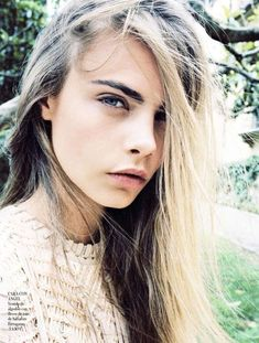 Cara Delevingne for Vogue Spain Brings the Ethereal Chic #photoshoots #fashion trendhunter.com