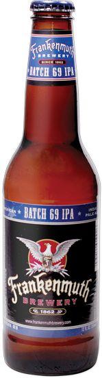 Frankenmuth Brewery Batch 69 American-Style IPA ABV 6.9%  IBU 69
