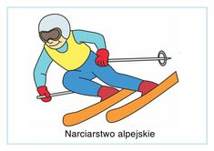 Enjoy this alpine skiing poster. You can almost hear him swooshing down the slope! This would make a great display with some of our other skiing posters, such as nordic combined and freestyle! Nordic Combined, Alpine Skiing, Olympic Sports, Winter Olympics, Winter Sports, Sporty, Winnie The Pooh, Disney Characters, Fictional Characters
