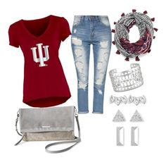 """""""IU"""" by tiffany-volkerding on Polyvore featuring Blue 84 and Stella & Dot"""