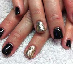 Black & GOLD!