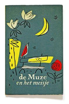 De Muze en het Meisje – 1957  Design and illustrations Jan van Keulen