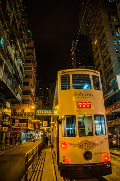 Hong Kong Tram to Shek Tong Tsui
