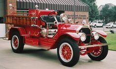 1921 American LaFrance Fire Truck.