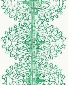 Variation on a renaissance lace pattern.