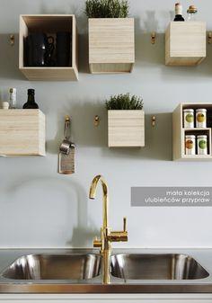 PROJEKT ŚCIANA: dekoracje ścienne w kuchni