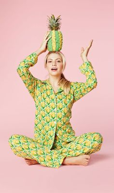 @cordbutton - want to get these and be twins? Just kidding - they're way out of our price range. Pineapples PJs