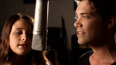 """""""Beneath Your Beautiful"""" Savannah Outen and Drew Seeley's cover version. Originally by Labrinth ft. Emeli Sande"""