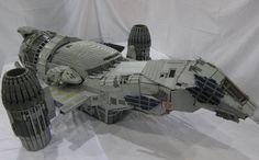 Engenheiro monta modelo da 100% fiel da Serenity em LEGO! | Nerdivinas