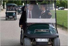В.Путин с новым водителем