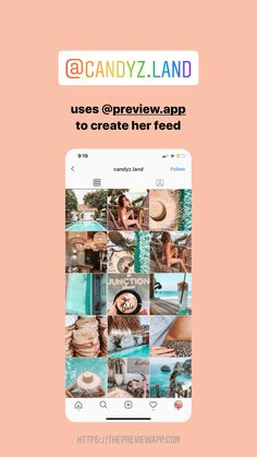 Click here to download Preview App too! @candyz.land is using Preview App to create her Instagram feed theme for summer. #instagramfeed #instagraminspiration #instagramfeedideas #instagramtips #instagramthemes Instagram Preview App, Instagram Feed Planner, Instagram Bio, Instagram Accounts, Trending Hashtags, Instagram Marketing Tips, Photography Tutorials, Photo Editing, Social Media