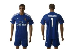 Maillot Real Madrid Casillas 1 Extérieur 2013-2014