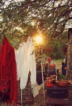A Gypsy Bohemian Summer Feast