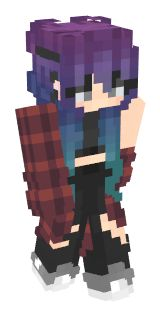 Check out our list of the best Purple Hair Minecraft skins. Minecraft Skins Galaxy, Minecraft Skins Female, Minecraft Skins Aesthetic, Minecraft Girl Skins, Cool Minecraft Houses, Minecraft Crafts, Lego Minecraft, Minecraft Buildings, Lego Lego