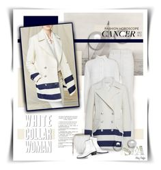 """""""Sea and be seen: Cancer Fashion Horoscope"""" by mcheffer ❤ liked on Polyvore featuring Philosophy di Lorenzo Serafini, Jimmy Choo, Maison Margiela and whatsyoursign"""