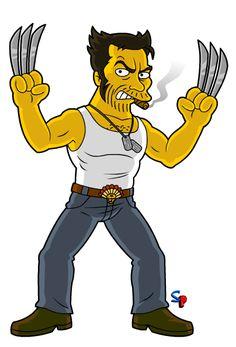 Springfield Punx: X-Men