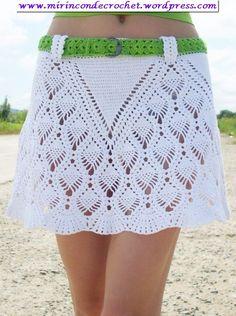 Muy bella falda… « Mi Rincon de Crochet