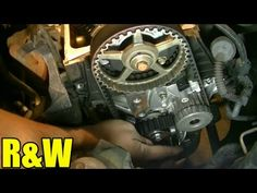 Here is Part 4 of my version of replacing the timing belt, water pump and tensioner on a 2005 Honda Civic. This procedure should be the same for 2001-2005 Ho...