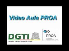 Vídeo explicativo sobre o Programa  a troca de senha do PROA para a Secretaria Estadual da Saúde do RS. Produzido no Camtasia em 2016.