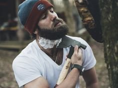 Daniel Norris. Blue Jays pitcher who lives out of a van and shaves his beard with an Axe