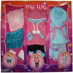 My Life As A Day in the Life Clothing Sets...Kaitlyn doll?