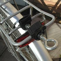 Bicycle Trailer Hitch (to Luggage Rack) - Good idea!