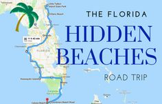 The Hidden Beaches Road Trip That Will Show You Florida Like Never Before The Best Beaches In Florida Are Often The Most Hidden<br> A road trip that is entirely about sun, fun, and surf. Best Beach In Florida, Places In Florida, Naples Florida, Florida Vacation, Florida Travel, Florida Keys, Florida Trips, Map Of Florida Beaches, Visit Florida