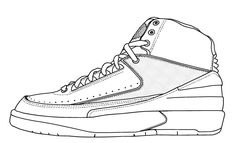 Printable Shoe coloring page from FreshColoring.com