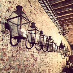 classic new orleans gas lanterns and french doors light fixtures