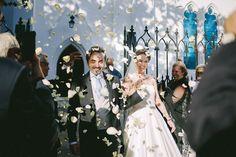 confetti time All White Wedding, Confetti, Real Life, Practical Life