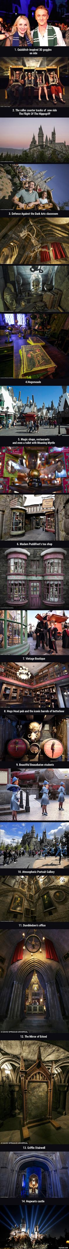 First Look At The Wizarding World of Harry Potter At Los Angeles - 9GAG