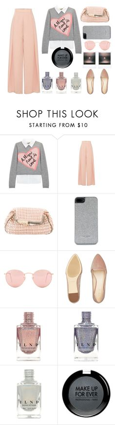 """""""All you need is Love"""" by juliehalloran ❤ liked on Polyvore featuring Alice + Olivia, Fendi, Ted Baker, Ray-Ban, Polaroid, Nine West and MAKE UP FOR EVER"""