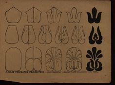developing Hungarian folk art motifs