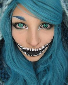 Pin for Later: 20 of the Scariest, Goriest Halloween Costumes Using Makeup (NSFW!) Mermaid Skeleton