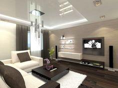 éclairage-led-salon-suspension-design-mobilier-marron-parquet.jpg (750×563)