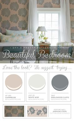 Hometalk :: I Spy A Pretty Pattern In These Beautiful Bedrooms!