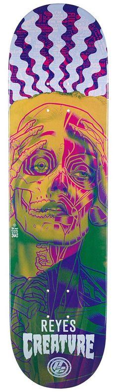 Creature Reyes Anatomy P2 Skateboard Deck