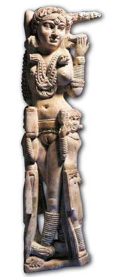 Image féminine proche de celle sur le Stupa 1 - Pompéi - Musée archéologique de Naples